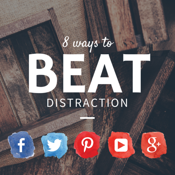 8 Ways to Beat Social Media Distraction