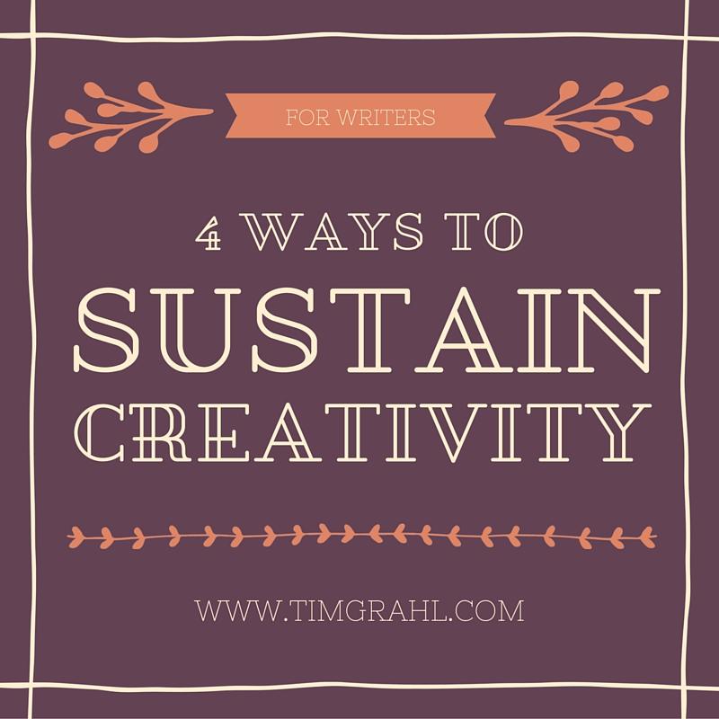 4 S's to Sustain Creativity