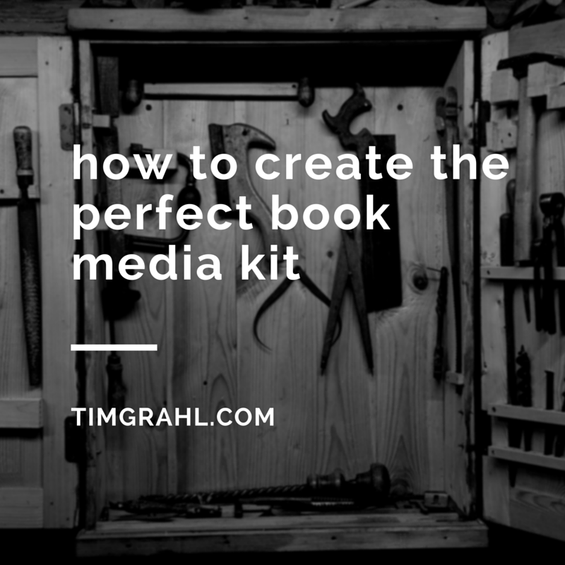 how to create theperfect bookmedia kit