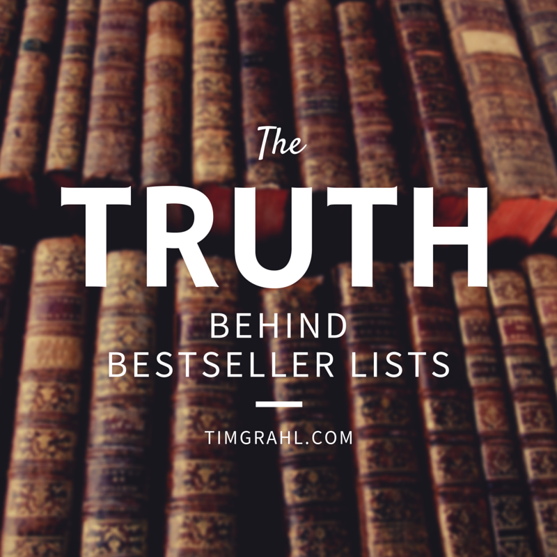 The truth about the Wall Street Journal and New York Times bestseller lists