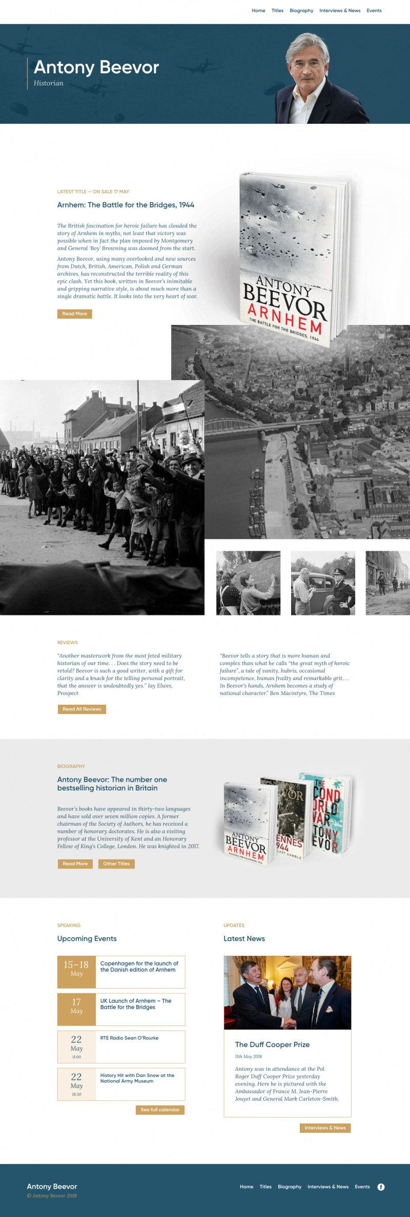 Antony Beevor Author Website Website