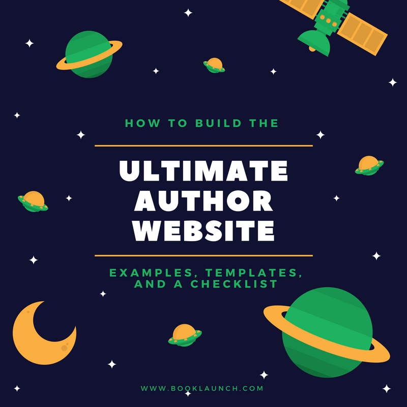 Author Website: Examples, Templates, and How to Build One