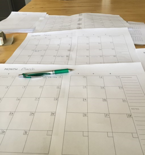 The Writer Productivity Calendar