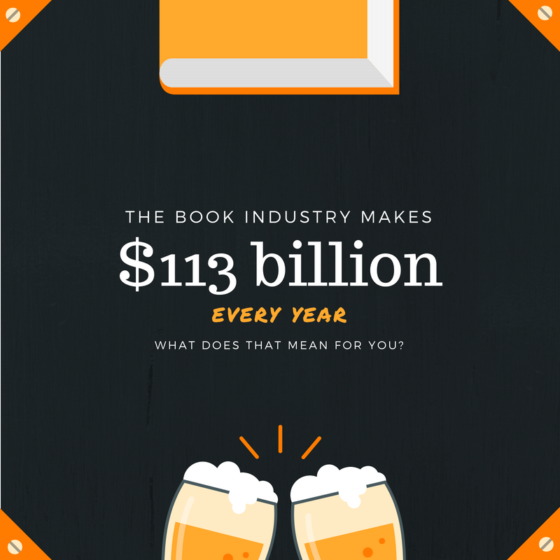Book industry makes $113 billion a year