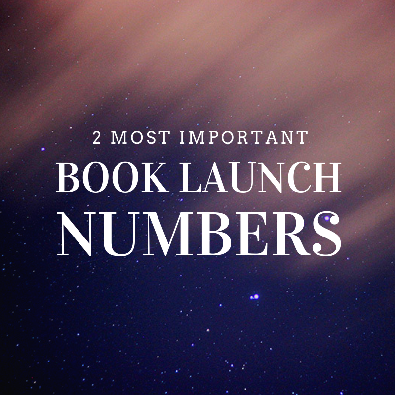 2 Most Important Book Launch Numbers